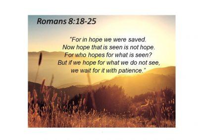 2014-08-31 God's Re-Creation