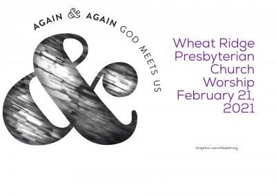 2021-02-21 WRPC Worship Service