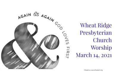 2020-03-14 WRPC Worship Service